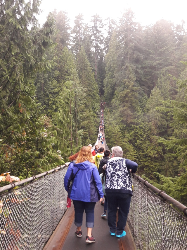 capilano, capilano suspension bridge, vancouver, canada, travel blog, cabin crew blog, flight attendant blog