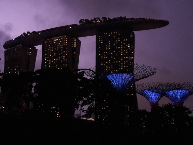 marina bay sands, gardens by the bay, singapore, travel blog, cabin crew blog, flight attendant blog
