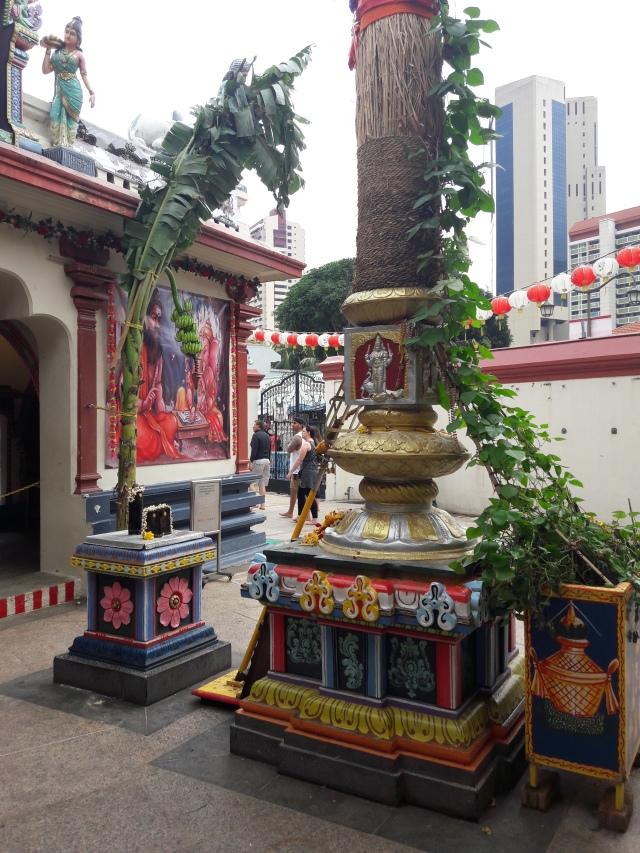 sri mariamman temple singapore, hindu temple, singapore