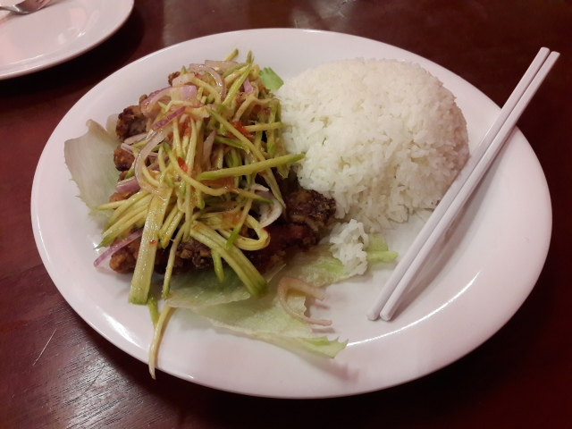mango chicken rice